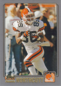 Cleveland Browns 2001 Topps Football Cards
